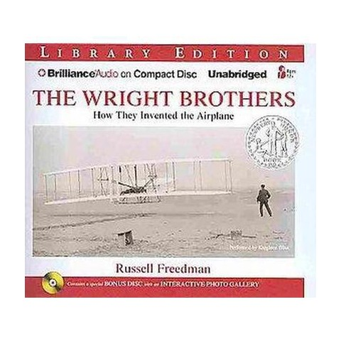 The Wright Brothers (Unabridged) (Mixed media product)