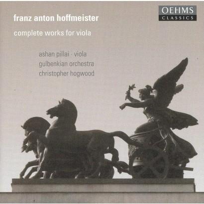 Franz Anton Hoffmeister: Complete Works for Viola