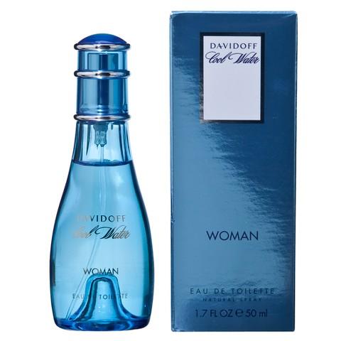 Women's Cool Water by Davidoff Eau de Toilette - 1.7 oz