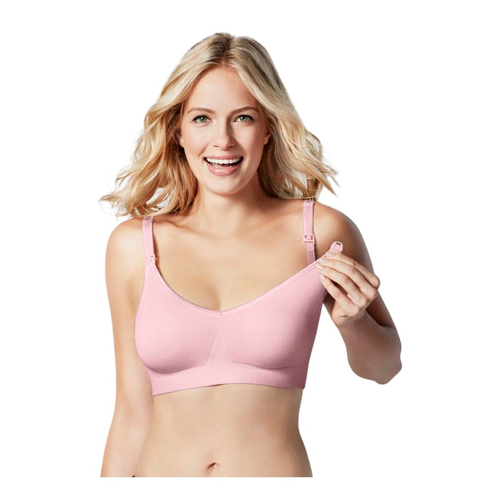 Bravado! Designs Women's Body Silk Seamless Nursing Bra - Pink Ice XL plus size,  plus size fashion plus size appare