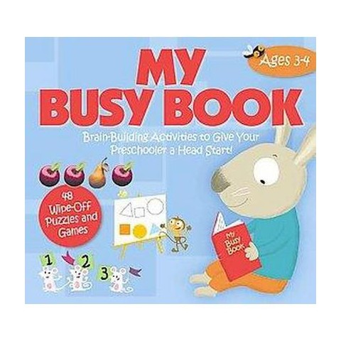 My Busy Book: Ages 3-4 (Hardcover)