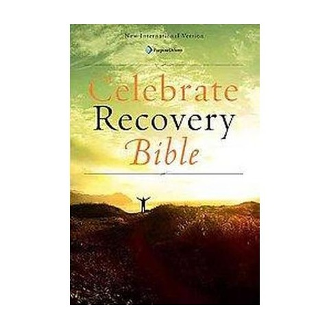 Celebrate Recovery Bible (Large Print) (Hardcover)
