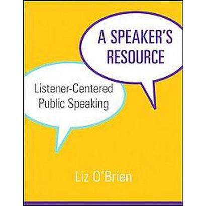 A Speaker's Resource (Paperback)