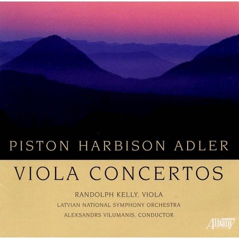 Piston, Harbison, Adler: Viola Concertos