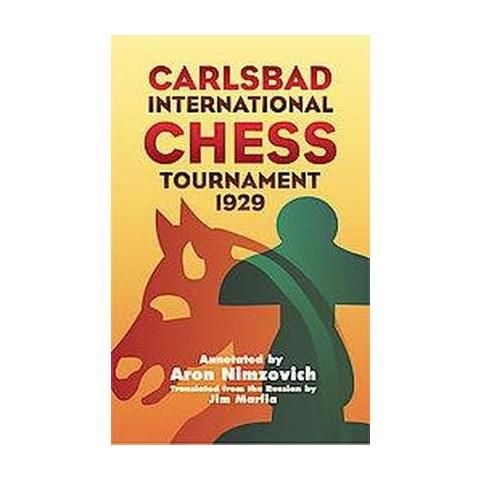 Carlsbad International Chess Tournament 1929 (Reprint) (Paperback)