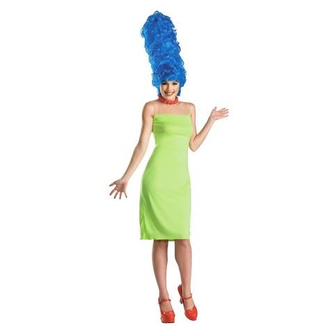 Women's Marge Simpson Deluxe Costume