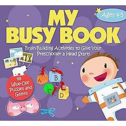 My Busy Book Ages 4-5 (Hardcover)