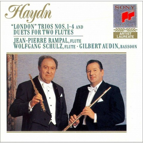 """Haydn: """"London"""" Trios Nos. 1-4; Duets for 2 flutes"""