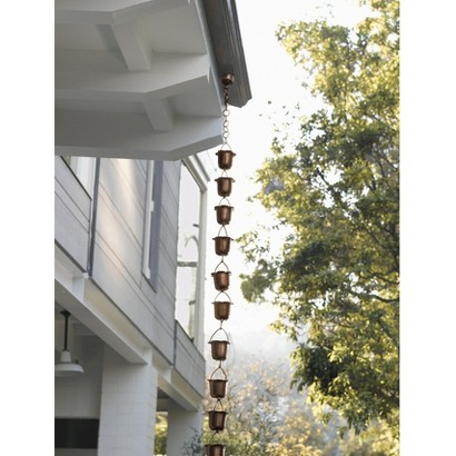 Smith & Hawken® Copper Wind Chime