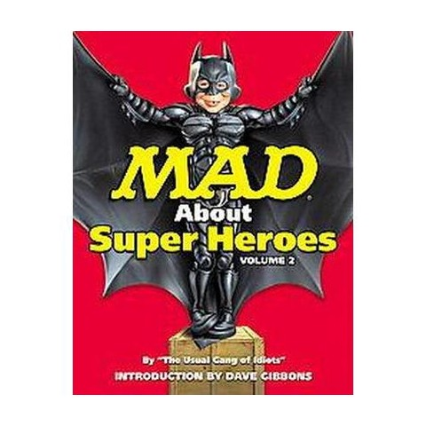Mad About Super Heroes (2) (Paperback)