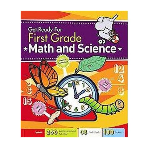 Get Ready for First Grade Math & Science (Hardcover)