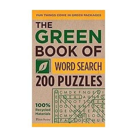 The Green Book of Word Search (Paperback)