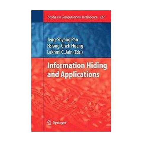 Information Hiding and Applications (Hardcover)