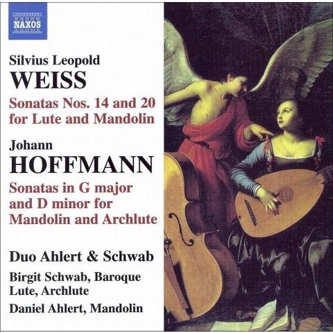 Silvius Leopold Weiss: Sonatas for Lute & Mandolin; Hoffmann: Sonatas for Mandolin & Archlute