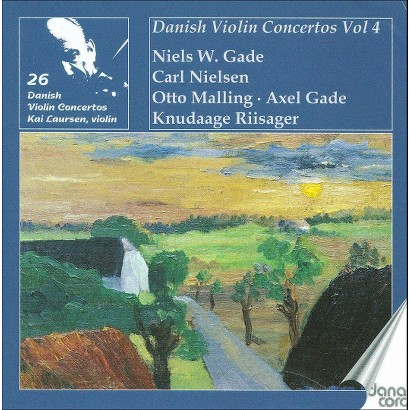Kai Laursen plays Danish Violin Concertos, Vol. 4