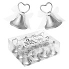 Silver Bell Place Card Holders (Set of 12)