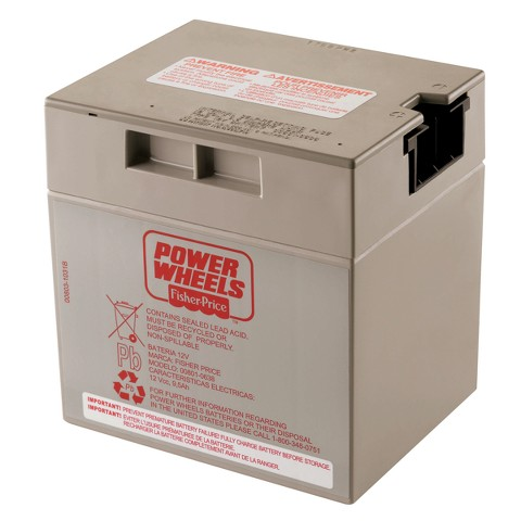 Fisher-Price® Power Wheels 12-Volt Rechargeable Battery