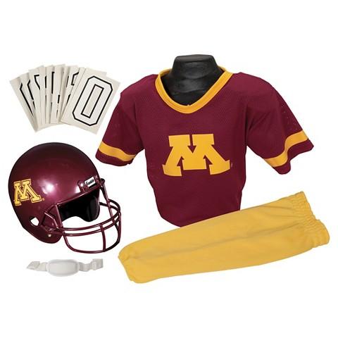 Minnesota Golden Gophers Franklin Sports Deluxe Football Helmet/Uniform Set