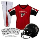 Franklin Sports Atlanta Falcons Deluxe Football Helmet/Uniform Set