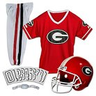 Franklin Sports Georgia Bulldogs Deluxe Football Helmet/Uniform Set
