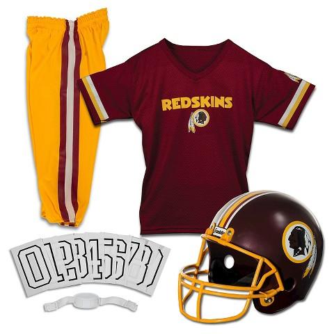 Franklin Sports Washington Redskins Deluxe Football Helmet/Uniform Set