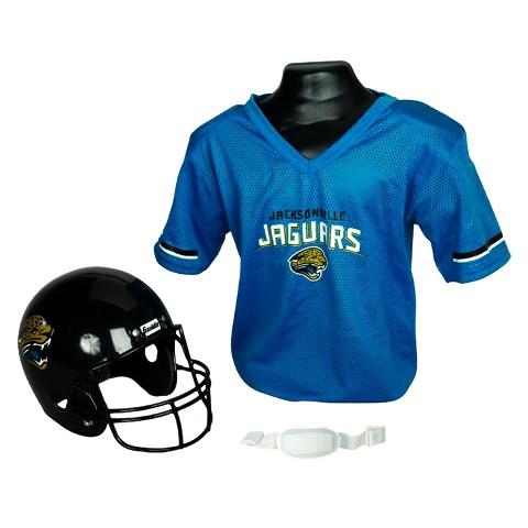 Jacksonville Jaguars Franklin Sports Helmet/Jersey Set - Ages 5-9