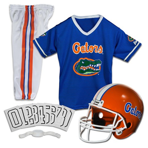 Franklin Sports Florida Gators Deluxe Football Helmet/Uniform Set