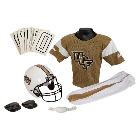 Franklin Sports Central Florida Knights Deluxe Football Helmet/Uniform Set