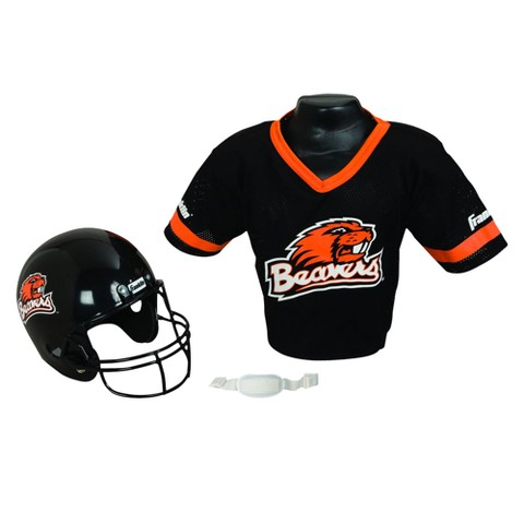 Oregon State Beavers Franklin Sports Helmet/Jersey Set - OSFM ages 5-9