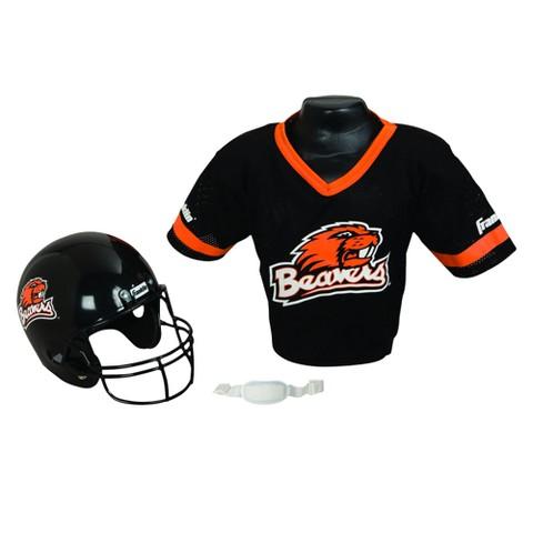 Oregon State Beavers Franklin Sports Helmet/Jersey Set - OSFM ages 5-9