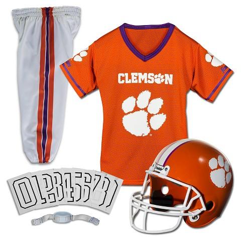 Clemson Helmet Uniform Deluxe Set