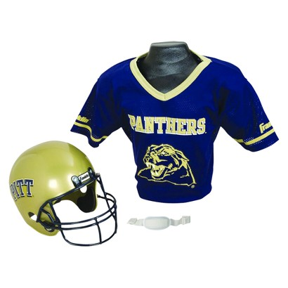 Pittsburgh Panthers Franklin Sports Helmet/Jersey set- OSFM ages 5-9