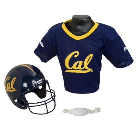 California Golden Bears Franklin Sports Helmet/Jersey Set - OSFM ages 5-9