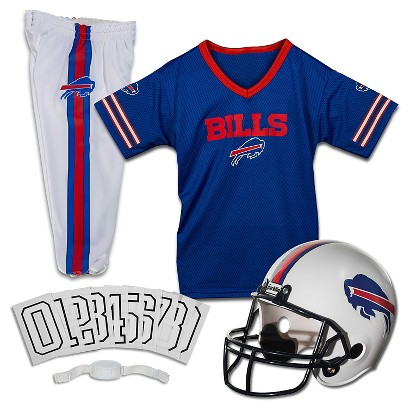 Image of Buffalo Bills Franklin Sports Deluxe Uniform Set - Small