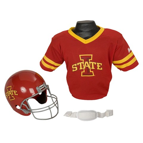 Franklin sports Iowa St Helmet/Jersey set - OSFM ages 5-9