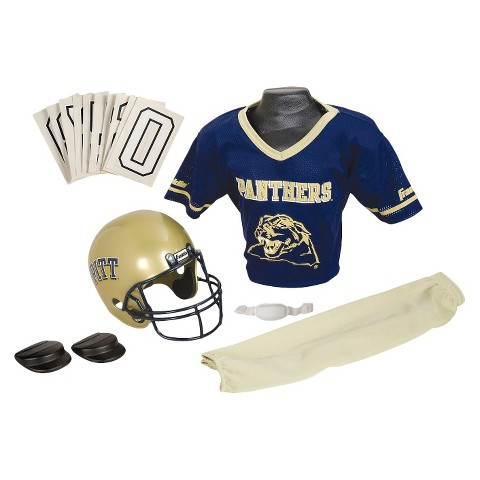 Franklin Sports Pittsburgh Panthers Deluxe Football Helmet/Uniform Set