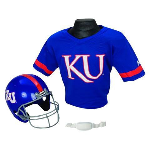 Kansas Helmet/Jersey set- Ages 5-9