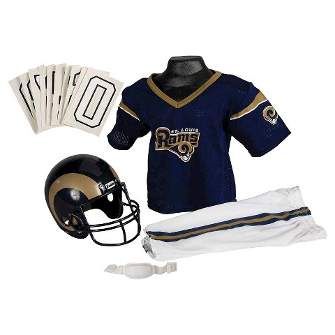 Franklin Sports St. Louis Rams Deluxe Football Helmet/Uniform Set