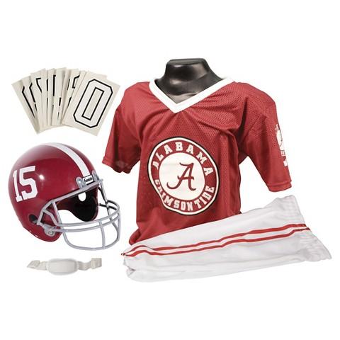 Franklin Sports Alabama Crimson Tide Deluxe Football Helmet/Uniform Set