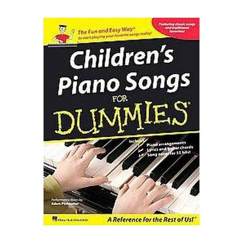 Children's Piano Songs for Dummies (Paperback)