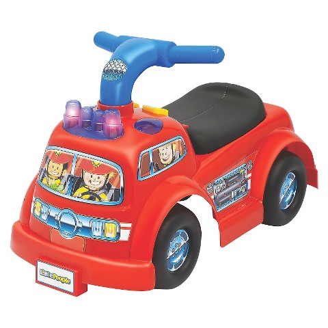 Fisher-Price® Little People Lil' Fire Truck Ride-On