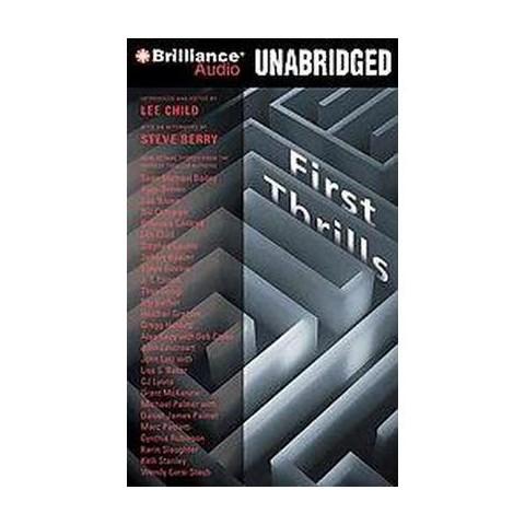 First Thrills (Unabridged) (Compact Disc)