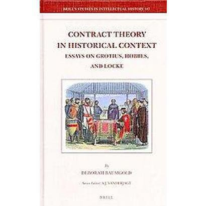 Contract Theory in Historical Context (Hardcover)