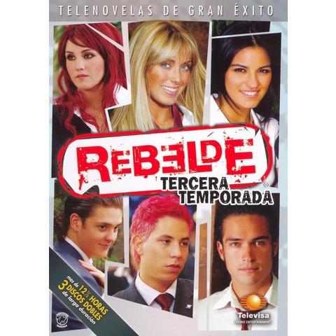 Rebelde: Tercera Temporada (3 Discs)