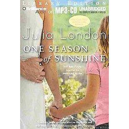 One Season of Sunshine (Unabridged) (Compact Disc)