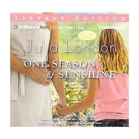 One Season of Sunshine (Unabridged) (Compact Disc)