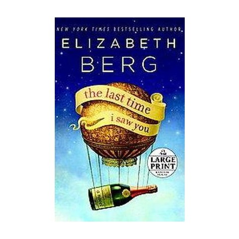 The Last Time I Saw You (Large Print) (Paperback)