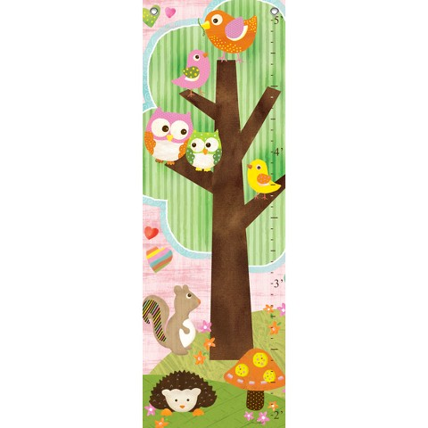 Oopsy Daisy too Love & Nature Growth Chart - 13x39""