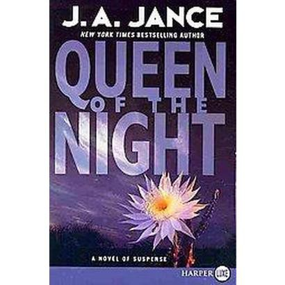 Queen of the Night (Larger Print) (Paperback)