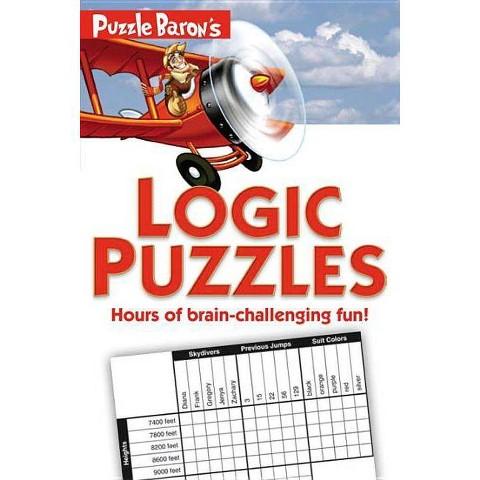 Puzzle Baron's Logic Puzzles (Paperback)